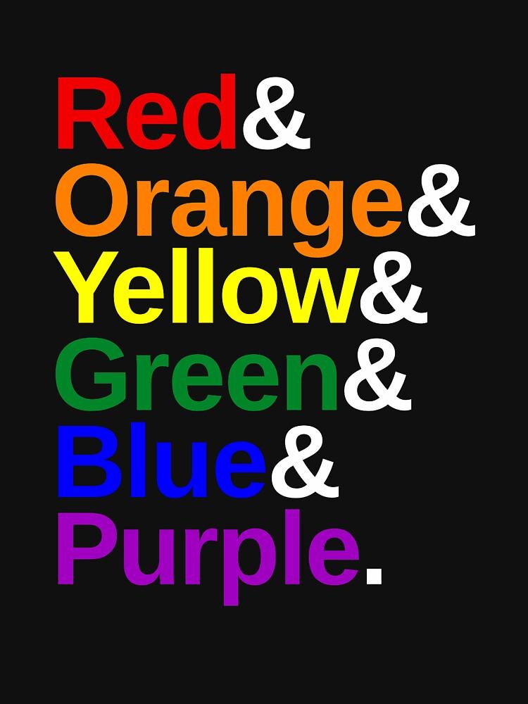 LGBTQ Color List by valador