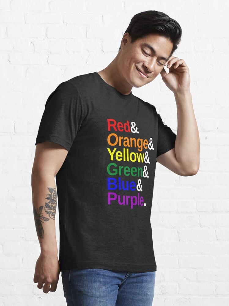 Alternate view of LGBTQ Color List Essential T-Shirt