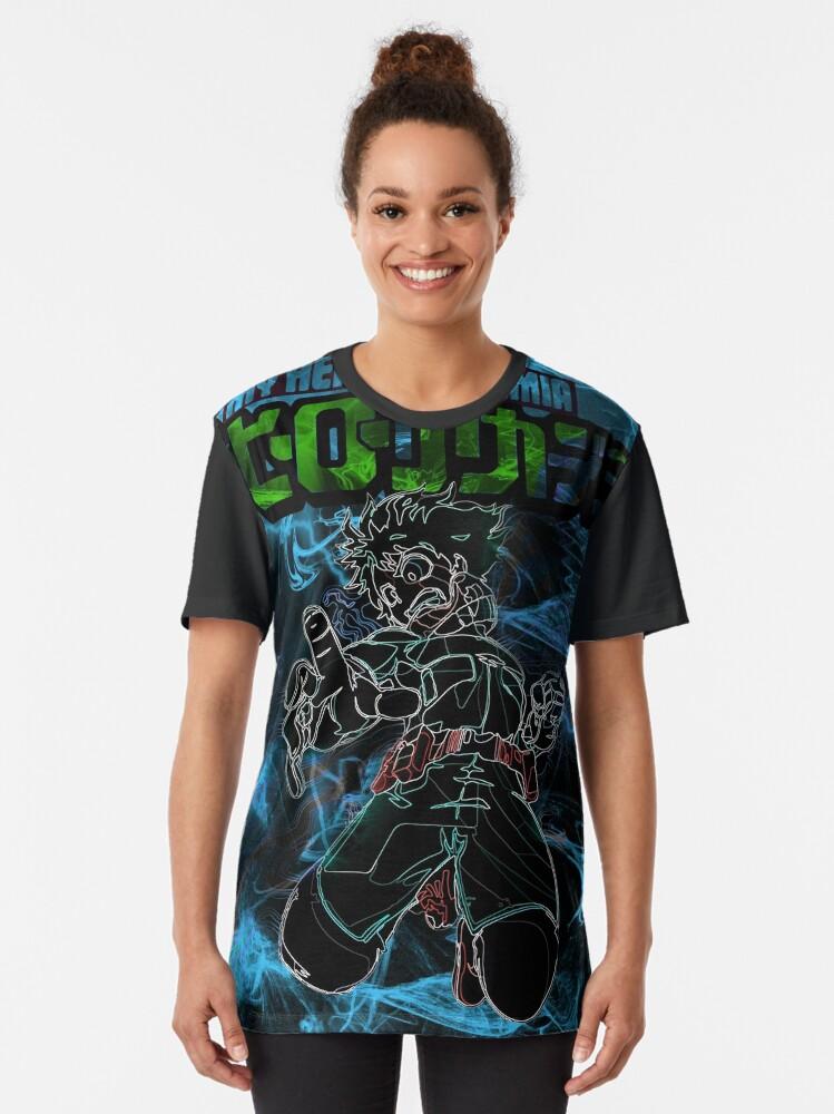 Alternate view of Student heroe Awakening Graphic T-Shirt