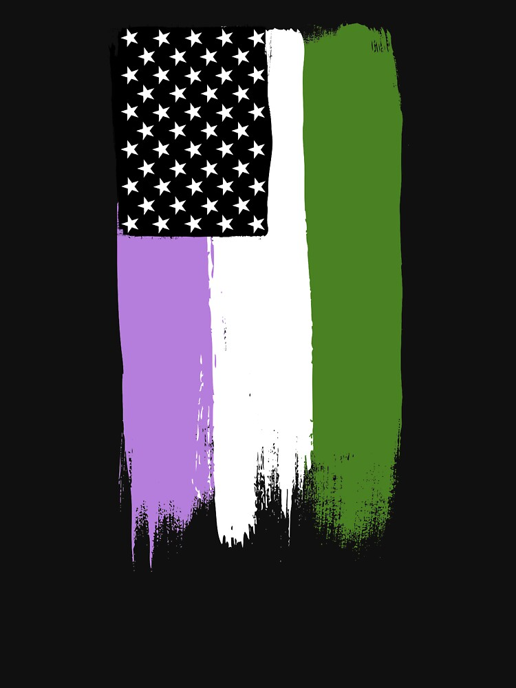 Genderqueer Pride Stars and Stripes by valador