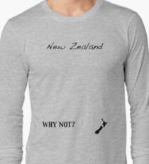 New Zealand - Why Not? Long Sleeve T-Shirt