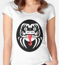 Hardcore Daruma Women's Fitted Scoop T-Shirt