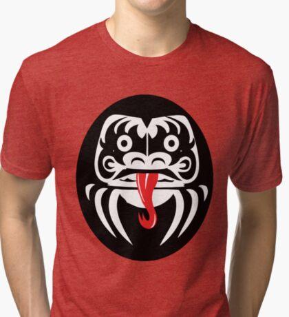 Hardcore Daruma Tri-blend T-Shirt