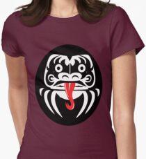 Hardcore Daruma Women's Fitted T-Shirt