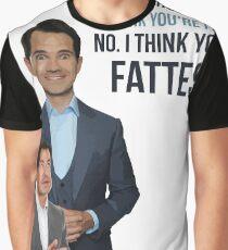 Jimmy Carr - Fatist Joke Graphic T-Shirt