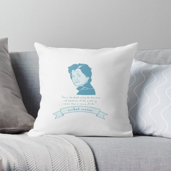 Rachel Carson Throw Pillow