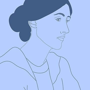 Virginia Woolf by robinmcgill