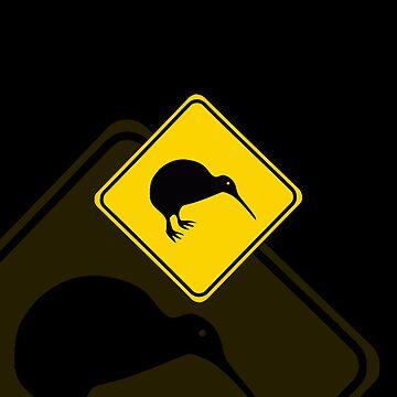 iPhone Case - Warning: Kiwi by jonathanhughes