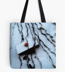 """ Nature Overtakes Man "" Tote Bag"