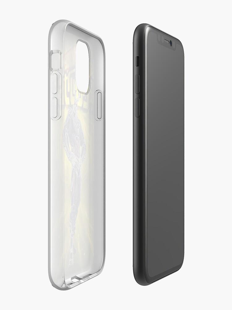 Alternate view of Super heroe Awakening iPhone Case & Cover