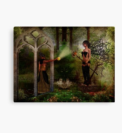 Two Lights Canvas Print