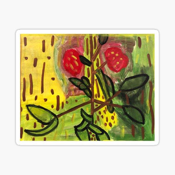 Flowers by Shawn D. Sticker
