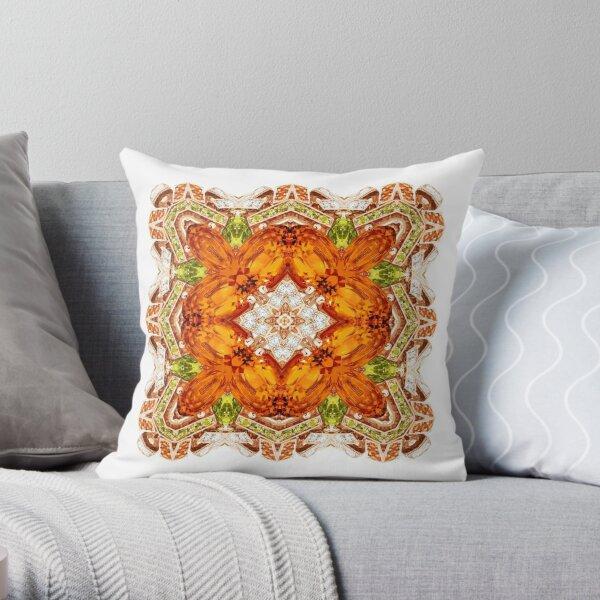 Krazy Kaleidoscope 1034 Throw Pillow