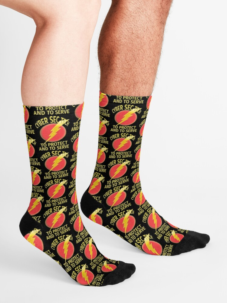 Alternate view of Cyber Security Technologist. Socks