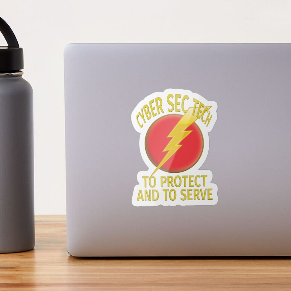 Cyber Security Technologist. Sticker
