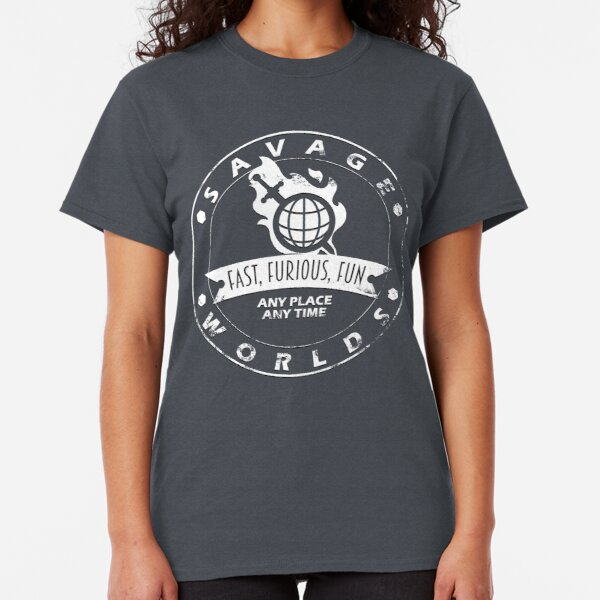 Savage Worlds Any Time Classic T-Shirt