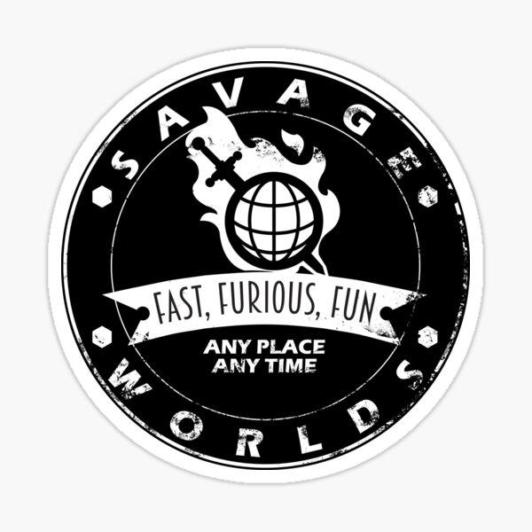 Savage Worlds Any Time Sticker