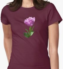 Fancy Pink Tulip Women's Fitted T-Shirt