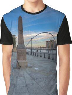 Newcastle Quayside Graphic T-Shirt