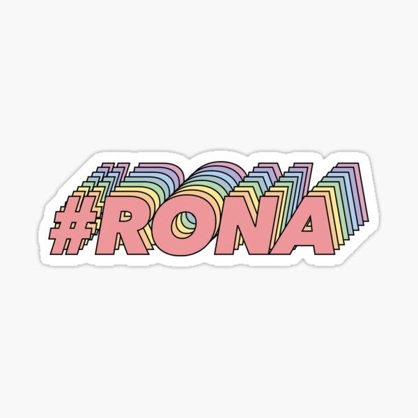 #rona Pegatina
