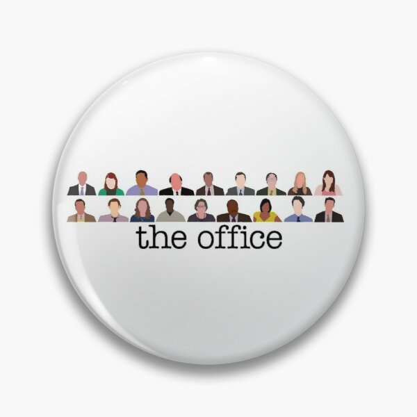 The Office Characters Pin