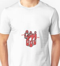 Minecraft Mooshroom Design Unisex T-Shirt