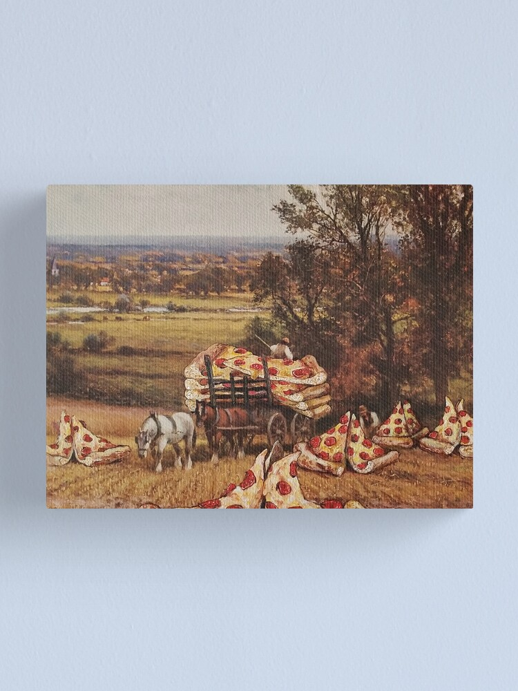 Alternate view of Great Harvest of the Single Slice Canvas Print