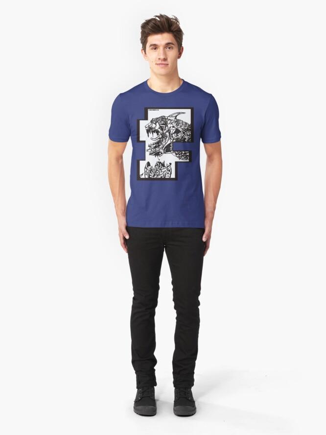 Alternate view of Neo London Mega Shark - T-Shirt Slim Fit T-Shirt