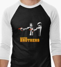Zapper Brothers Men's Baseball ¾ T-Shirt