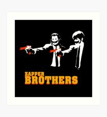 Zapper Brothers Art Print