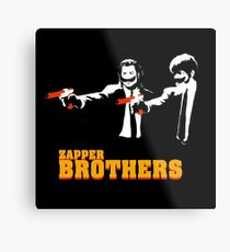 Zapper Brothers Metal Print