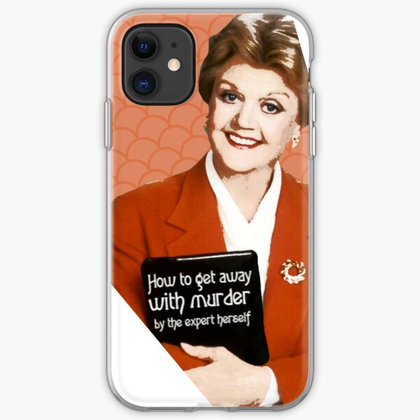 Murder, She Wrote Fan Art iPhone Soft Case