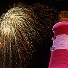 Fireworks on Plymouth Hoe by sbarnesphotos