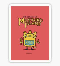 Look behind you, a three-headed mustard! Sticker