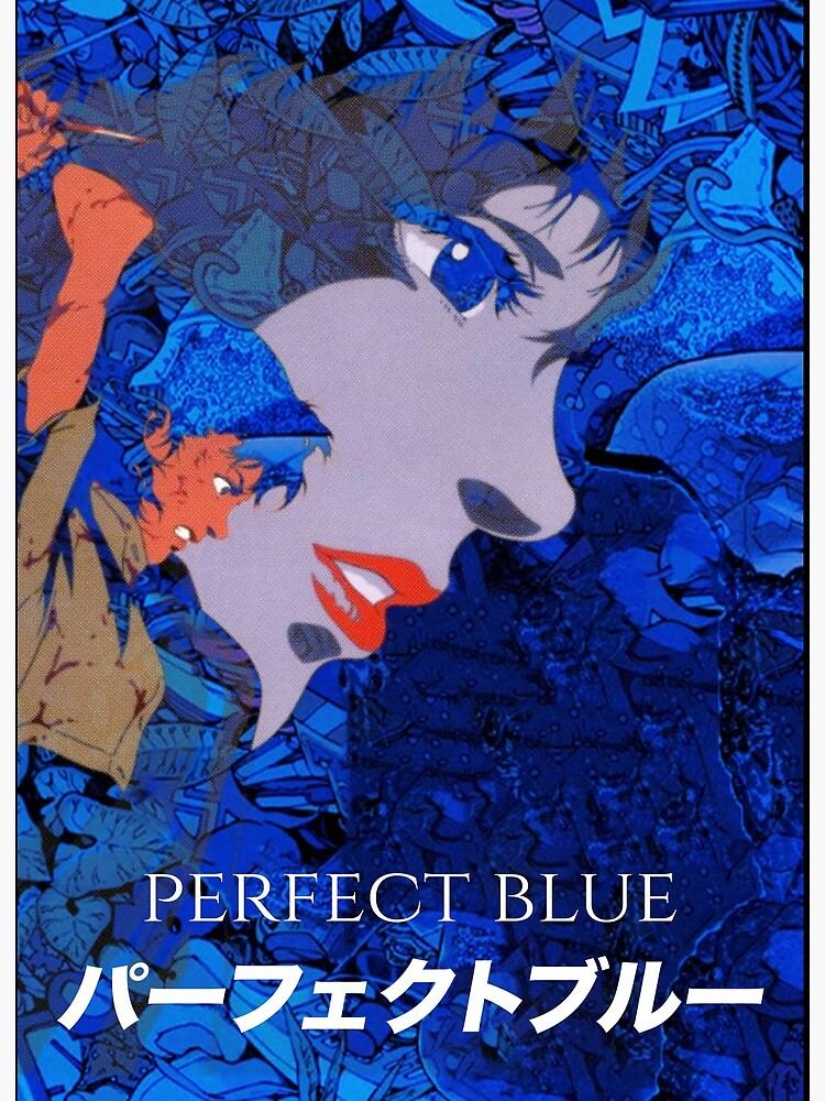 Perfect Blue Fan Art 2 Art Board Print By Datadumb Redbubble