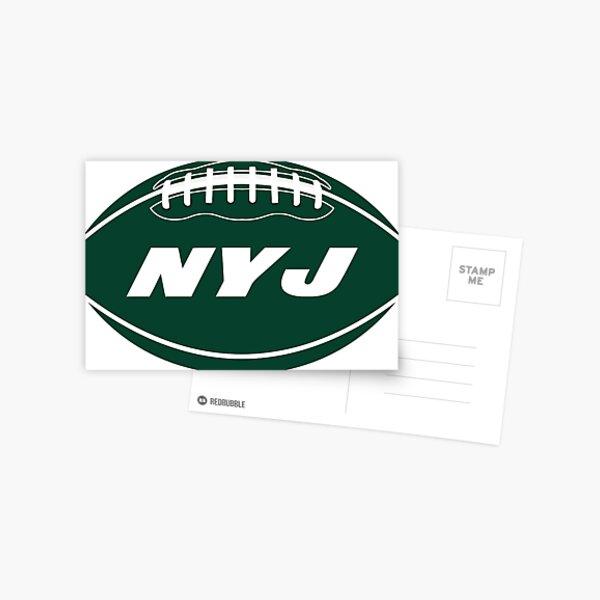 New York Jets Football Design Postcard