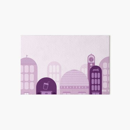 A Different Lavender Town Art Board Print