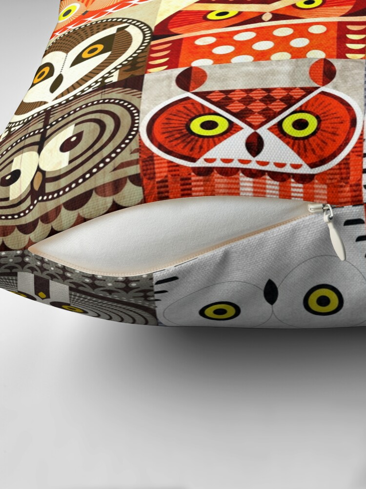 Alternate view of North American Owls Floor Pillow