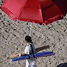 Selling Umbrellas - Vendiendo Sombrillas by PtoVallartaMex
