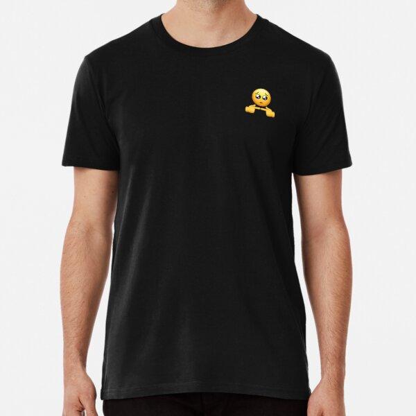 Shy emoji  Premium T-Shirt
