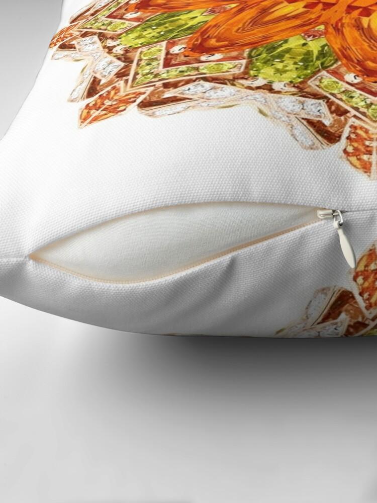 Alternate view of Krazy Kaleidoscope 1036 Throw Pillow