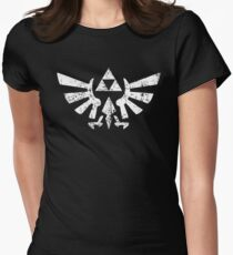 Zelda Triforce Symbol Women's Fitted T-Shirt