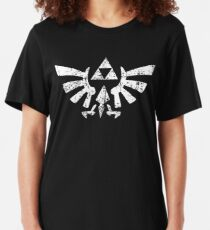 Zelda Triforce Symbol Slim Fit T-Shirt