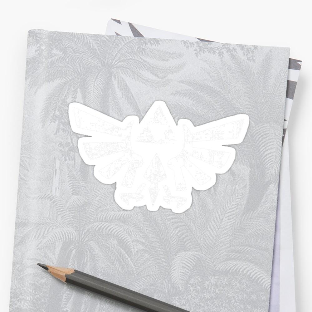 Zelda Triforce Symbol by Elle Campbell