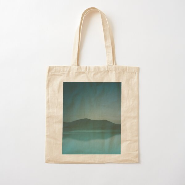 Lakeside Drive Cotton Tote Bag