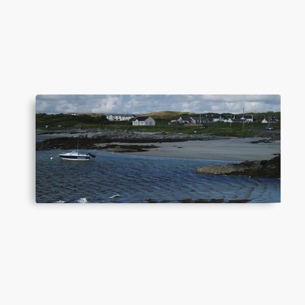 Windy Day at Rossbeg Canvas Print