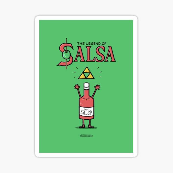 The Legend of Salsa Sticker