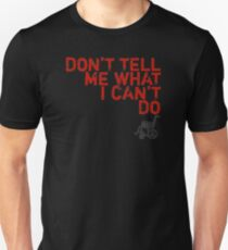 LOST Don't Tell Me What I Can't Do T-Shirt