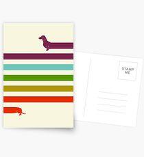(Very) Long Dachshund Postcards