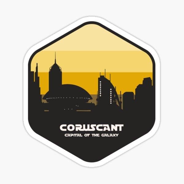 Coruscant Sticker